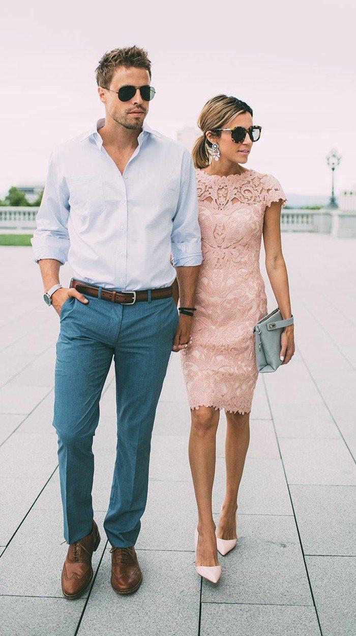 costume-homme-mariage-invite-homme-beau-femme-jolie-robe-dentelle-cool-moderne